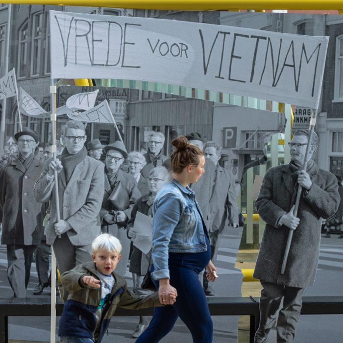 Activiteit Demonstreer mee! Foto Judith van der Meulen