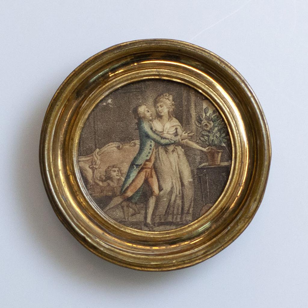 Medaillon Etta Palm en C.F.L. Palm, 1762. Groninger Archieven