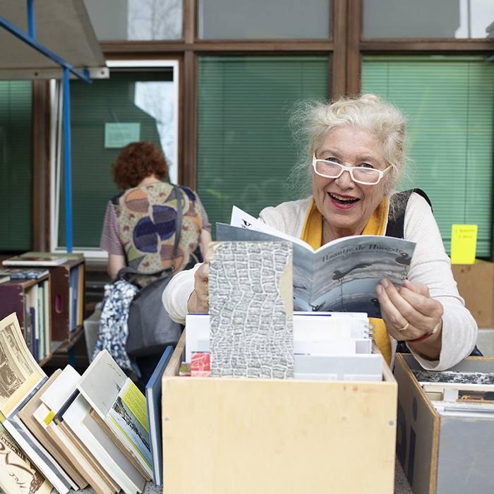 Boekenmarkt DGG18. Foto: Judith van der Meulen