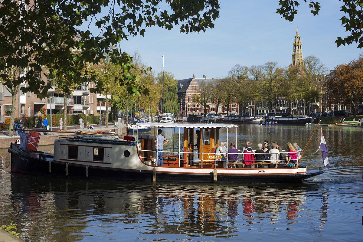 Rondvaart Emma DGG18. Foto: Judith van der Meulen