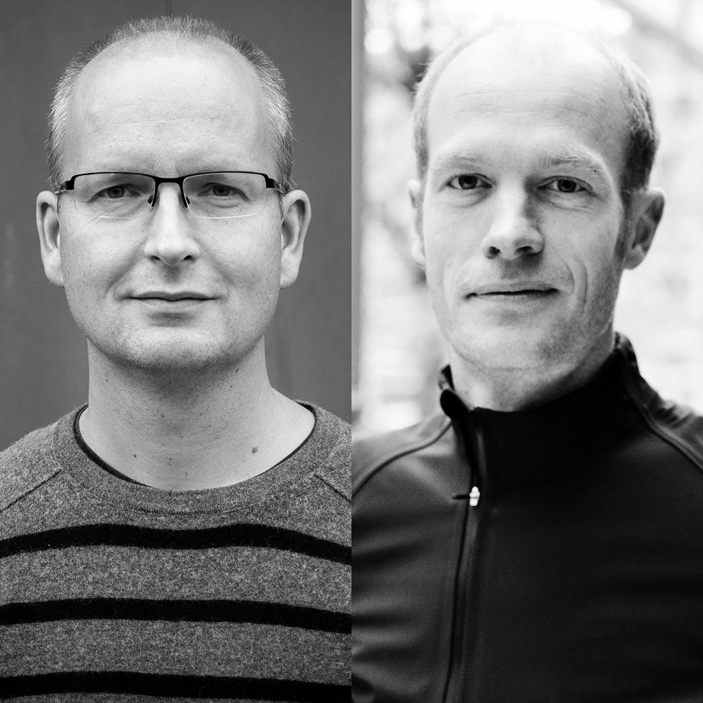 Frank von Hebel en Arjen Dijkstra