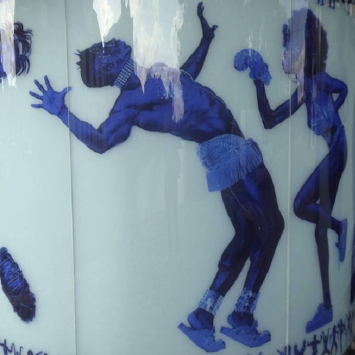 Openbaar toilet Groningen, Rem Koolhaas en Erwin Olaf. Foto: Paulien Ex