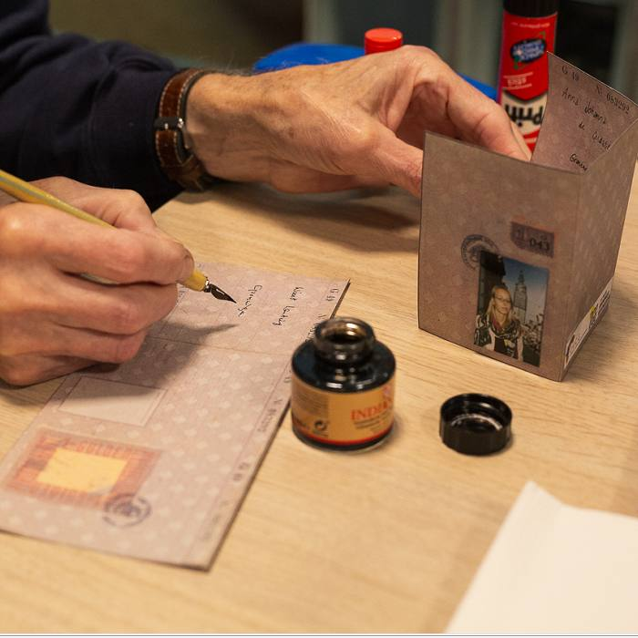 Persoonsbewijs maken. Foto: Judith van der Meulen
