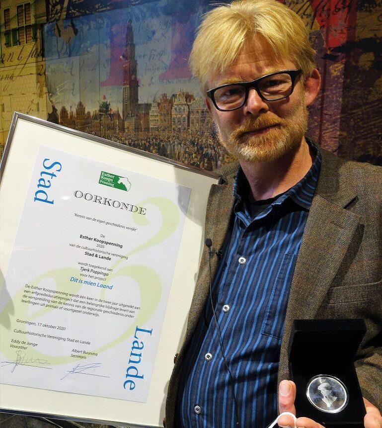 Winnaar Esther Koopspenning. Foto Tjerk Bekius