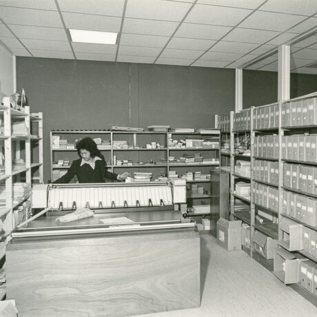 Het archief van de afdeling woningbouw van de gemeente Zuidhorn, 1973.