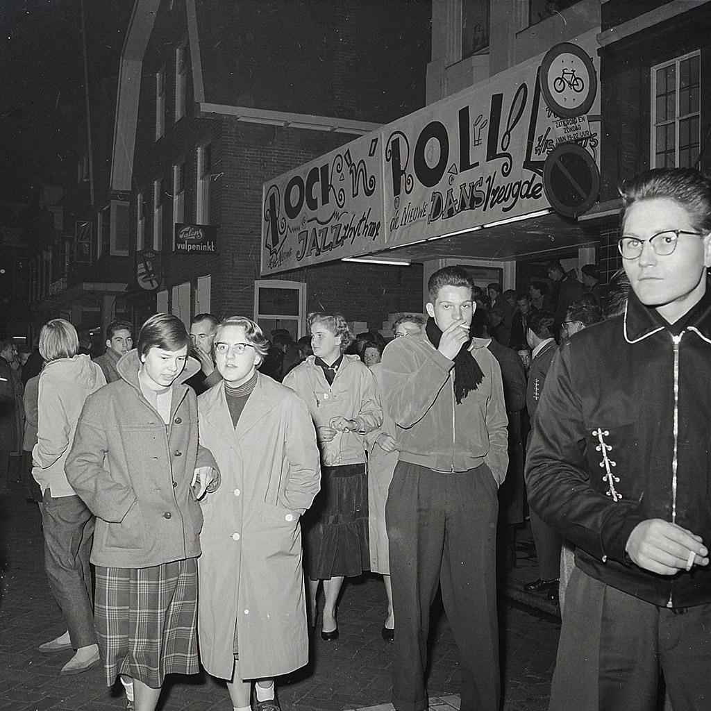 Rock 'n Roll, bioscoop Scala, Winschoten, 1956-'57.